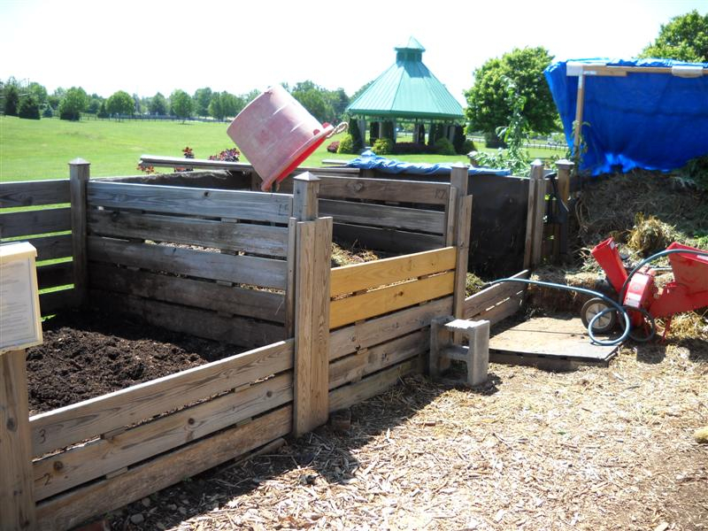 Compost Area May 2010
