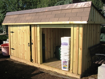 Compost Shed