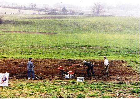 1992 Garden First Tilling